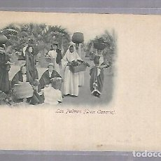 Postales: TARJETA POSTAL. LAS PALMAS. GRAN CANARIA. RUDOLF SCHIMRON. 1898. REVERSO NO DIVIDIDO. Lote 115690343