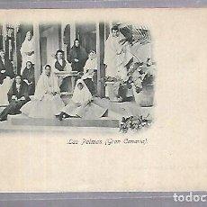 Postales: TARJETA POSTAL. LAS PALMAS. GRAN CANARIA. RUDOLF SCHIMRON. 1898. REVERSO NO DIVIDIDO. Lote 115690491