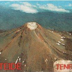 Postales: TEIDE VISTA AÉREA DEL PICO MÁS ALTO DE ESPAÑA EUROAFRICANA DE CANARIAS. Lote 115883839