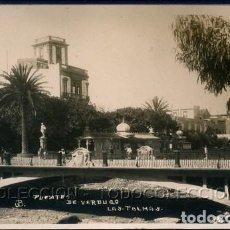 Postales: POSTAL CANARIAS LAS PALMAS PUENTE DE VERDUGO . JB CA AÑO 1920. Lote 115919735