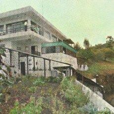 Postales: ISLAS CANARIAS VALLESECO RESTAURANTE LOS ROQUETES. Lote 116394359