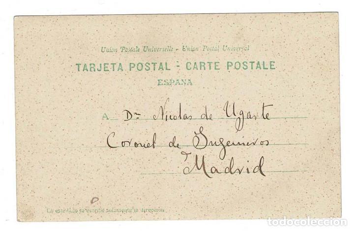Postales: Las Palmas 1903 Postal fotográfica construcción de un edificio. - Foto 2 - 116674239