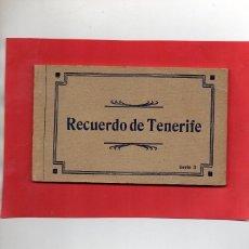 Postales: RECUERDO DE TENERIFE. SERIE 3. ALBUM DE 10 POSTALES COMPLETO. Lote 116702171