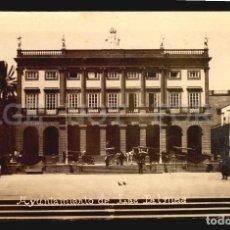 Postales: AYUNTAMIENTO LAS PALMAS TARJETA POSTAL FOTOGRAFICA CA1900 ED. JUAN BONNET. Lote 117536363