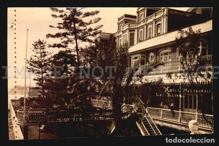 HOTEL METROPOLE LAS PALMAS TARJETA POSTAL FOTOGRAFICA CA1900 ED. JUAN BONNET (Postales - España - Canarias Antigua (hasta 1939))