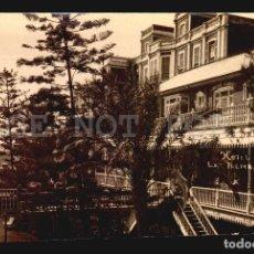 Postales: HOTEL METROPOLE LAS PALMAS TARJETA POSTAL FOTOGRAFICA CA1900 ED. JUAN BONNET. Lote 117538967
