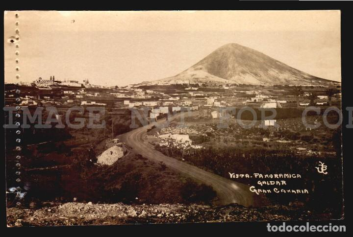 GALDAR GRAN CANARIA TARJETA POSTAL FOTOGRAFICA CA1900 ED. JUAN BONNET (Postales - España - Canarias Antigua (hasta 1939))