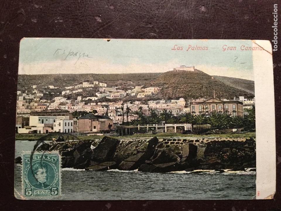 LAS PALMAS. GRAN CANARIA (Postales - España - Canarias Antigua (hasta 1939))