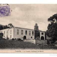 Postales: TENERIFE.- LA LAGUNA DE SAN DIEGO DEL MONTE. Lote 119072299