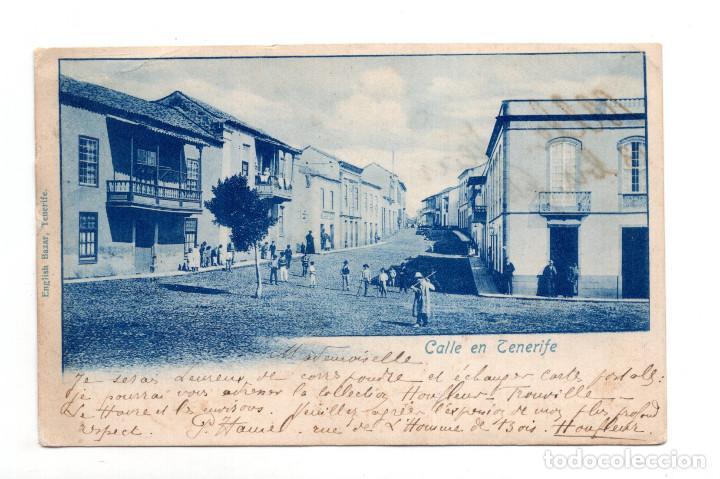 TENERIFE.- CALLE EN TENERIFE (Postales - España - Canarias Antigua (hasta 1939))