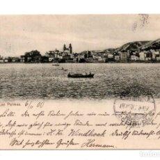 Postales: PALMAS - SELLO PELÓN. Lote 119598515