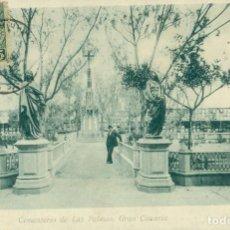 Postales: LAS PALMAS. CEMENTERIO CIRCULADA EN 1903.. Lote 120462515
