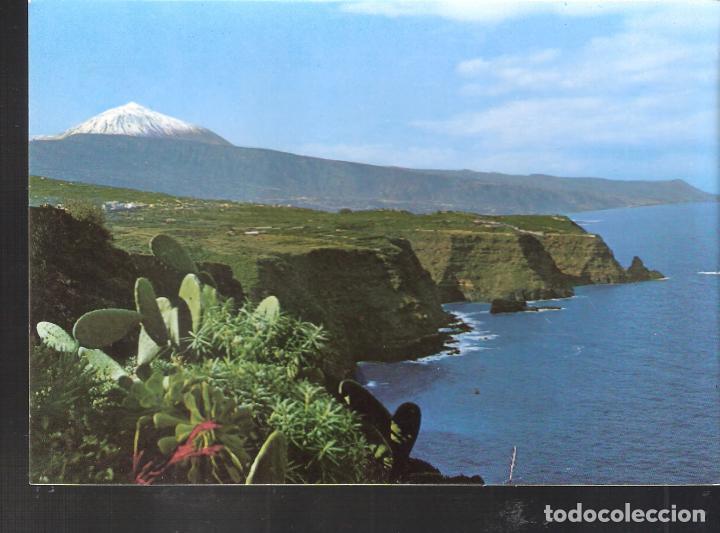 PAISAJE CON TEIDE Y MAR. TENERIFE. (Postales - España - Canarias Moderna (desde 1940))