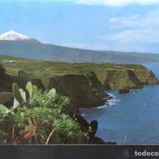 Postales: PAISAJE CON TEIDE Y MAR. TENERIFE.. Lote 120901191