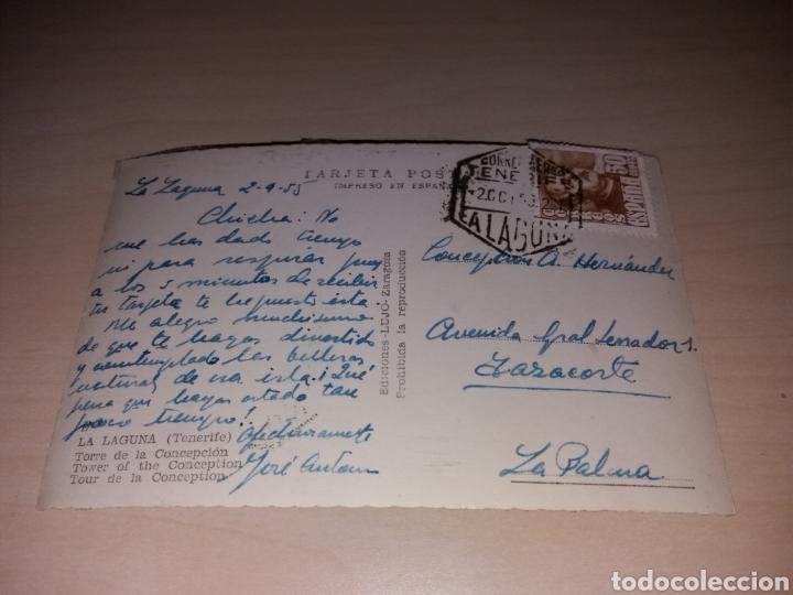 Postales: Antigua postal de LA LAGUNA - TORRE DE LA CONCEPCIÓN - TENERIFE - Foto 2 - 121533287