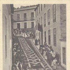 Postales: POSTAL TENERIFE. ALFOMBRA DE FLORES OROTAVA. 1903.. Lote 121866587