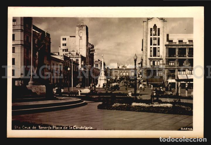 Postales: TENERIFE ISLAS CANARIAS 4 TARJETAS POSTALES CA1900 TIPO FOTOGRAFIA - Foto 3 - 121914907