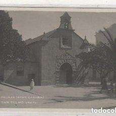Postales: 5 LAS PALMAS GRAN CANARIA. SAN TELMO ERMITA. FOTOGRÁFICA. CIRCULADA EN 1932. Lote 122538439