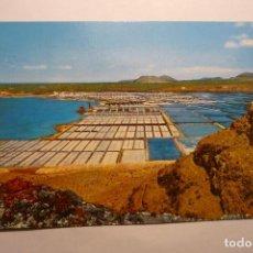 Postales: POSTAL LANZAROTE -SALINAS JANUBIO. Lote 124959951