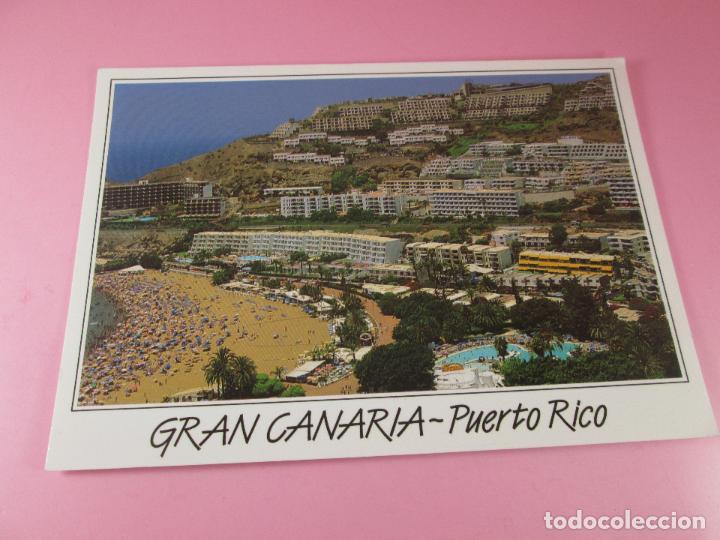 POSTAL-GRAN CANARIA-PUERTO RICO-SIN CIRCULAR-SIEN ESCRIBIR-NUEVA-VER FOTOS. (Postales - España - Canarias Moderna (desde 1940))