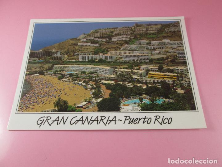 Postales: POSTAL-GRAN CANARIA-PUERTO RICO-SIN CIRCULAR-SIEN ESCRIBIR-NUEVA-VER FOTOS. - Foto 2 - 125234507