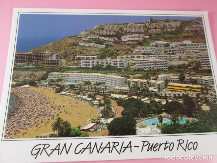 Postales: POSTAL-GRAN CANARIA-PUERTO RICO-SIN CIRCULAR-SIEN ESCRIBIR-NUEVA-VER FOTOS. - Foto 3 - 125234507