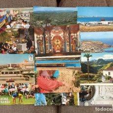 Postales: LOTE 36 POSTALES DE LAS PALMAS GRAN CANARIAS GOMERA FUERTEVENTURA LA PALMA LANZAROTE ETC . Lote 125303359