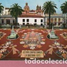 Postales: POSTAL LA OROTAVA TENERIFE FAMOSA ALFOMBRA DE FLORES Nº 49 DE PEREZ DIAZ GLOBAL TRADERS. Lote 125329051