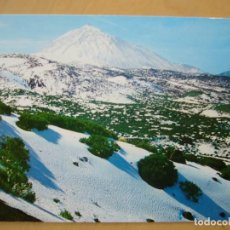 Postales: TENERIFE - TEIDE NEVADO. Lote 125384935