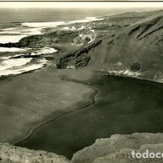 Postales: LANZAROTE. (ISLAS CANARIAS). EL GOLFO. EDICIÓN 'RO-FOTO' Nº 9036. FOTOGRÁFICA. Lote 126757527