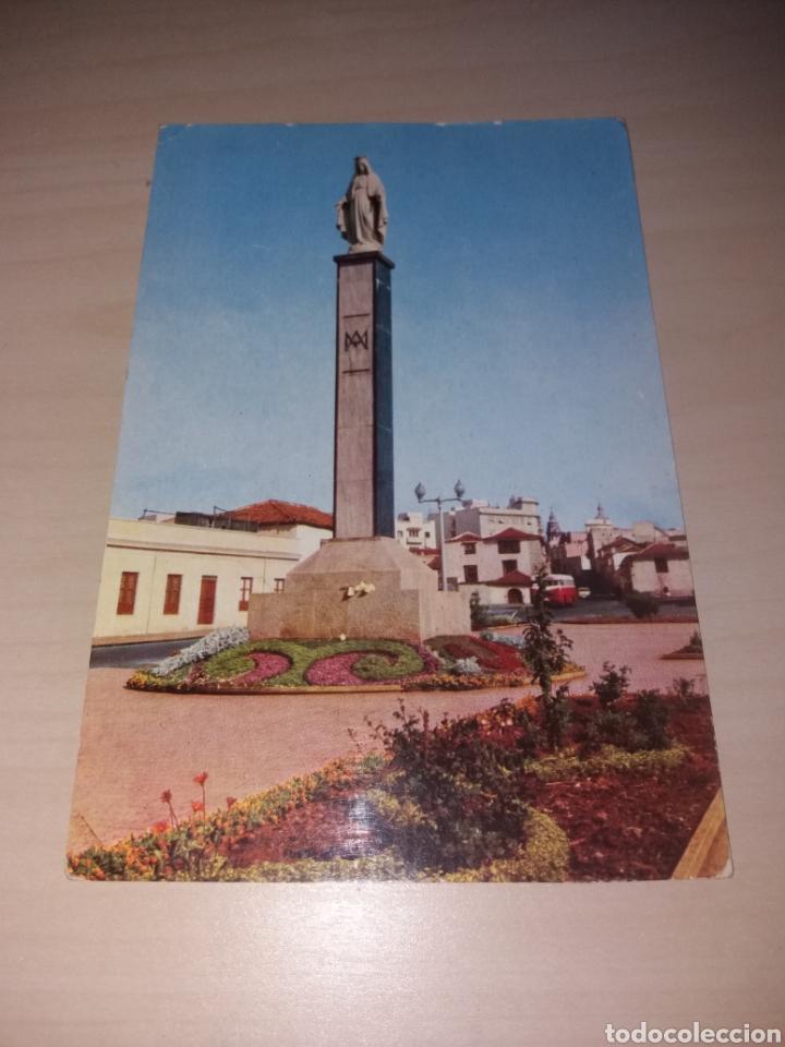 POSTAL DE LA LAGUNA - PLAZA DE SAN CRISTÓBAL (Postales - España - Canarias Moderna (desde 1940))