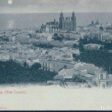 Postales: POSTAL LAS PALMAS - GRAN CANARIA - BAZAR ALEMAN - SIN DIVIDIR. Lote 127319059