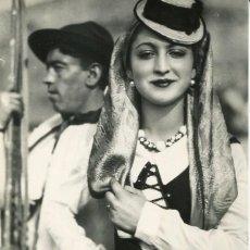 Postales: CANARIAS -TIPOS DE TENERIFE-FOTOGRÁFICA-J. ORTIZ-1953-PUBLICIDAD--MUY RARA. Lote 127633699