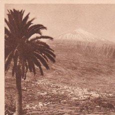 Cartes Postales: POSTAL DE TENERIFE - ISLAS CANARIAS - VALLE DE LA OROTAVA Y PICO DE TEIDE. Lote 127833375