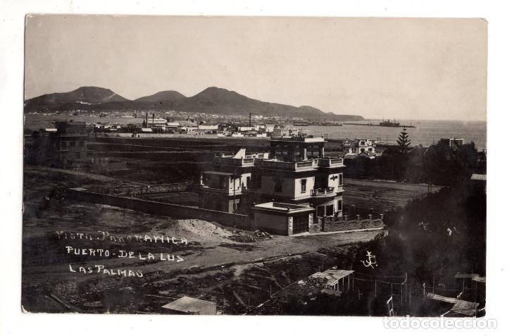 LAS PALMAS DE GRAN CANARIA.- POSTAL FOTOGRÁFICA.- PUERTO DE LA CRUZ (Postales - España - Canarias Antigua (hasta 1939))