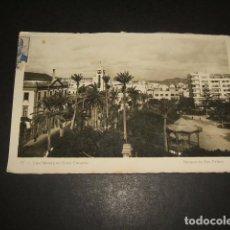 Postales: LAS PALMAS DE GRAN CANARIA PARQUE DE SAN TELMO. Lote 128039511