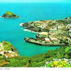 Postales: TENERIFE -VISTA GENERAL DE GARACHICO- (IBER CROMO Nº TF-0022) CIRCULADA / P-4154. Lote 128135563
