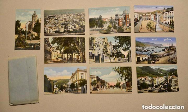 LOTE DE 10 ANTIGUAS POSTALES SANTA CRUZ DE TENERIFE (CANARIAS) SIN CIRCULAR (Postales - España - Canarias Antigua (hasta 1939))