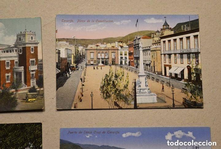 Postales: lote de 10 antiguas postales santa cruz de tenerife (canarias) sin circular - Foto 2 - 128949359