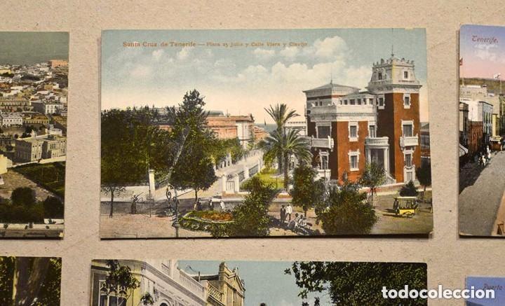 Postales: lote de 10 antiguas postales santa cruz de tenerife (canarias) sin circular - Foto 3 - 128949359