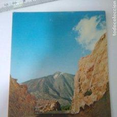 Postales: FOTO POSTAL TENERIFE ISLAS CANARIAS LOS AZULEJOS,LAS CAÑADAS DEL TEIDE. Lote 129153123
