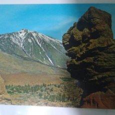 Postales: FOTO POSTAL TENERIFE LAS CAÑADAS Y TEIDE NEVADO.2324. Lote 129189307