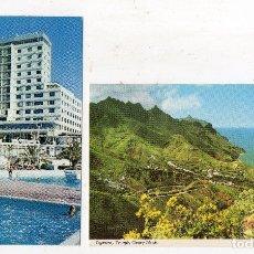 Postales: LOTE DE 2 POSTALES DE TENERIFE.. Lote 129463343