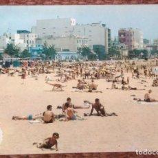 Postales: LAS PALMAS DE GRAN CANARIA - PLAYA DE LAS CANTERAS. Lote 130035807
