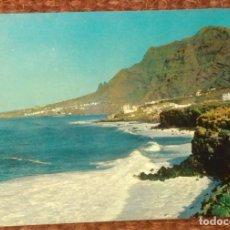 Postales: TENERIFE - COSTA DE BAJAMAR Y PUNTA DE HIDALGO. Lote 130036311