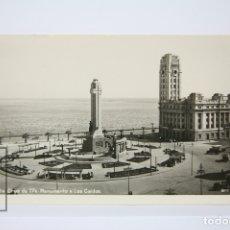 Postales: POSTAL FOTOGRÁFICA - SANTA CRUZ DE TENERIFE / MONUMENTO A LOS CAIDOS - EDIT BAENA - AÑOS 50. Lote 130904788