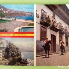 Postales: TENERIFE. VISTAS VARIAS. USADA CON SELLO. COLOR. Lote 130919683