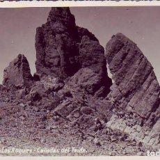 Postales: TENERIFE.LOS ROQUES - LAS CAÑADAS DEL TEIDE - FOTO A. MARTIN. Lote 130945492