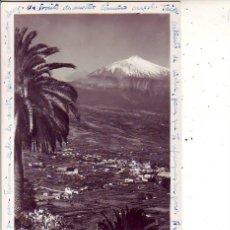 Postales: TENERIFE - VALLE DE LA OROTAVA - FOTO BAENA. Lote 130945524