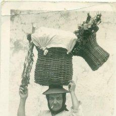 Postales: GANGOCHERA. POSTAL FOTOGRÁFICA CIRCULADA H. 1950. MUY RARA.. Lote 131583878
